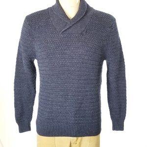 Tommy Bahama Shawl Neck Sweater Sz M EUC